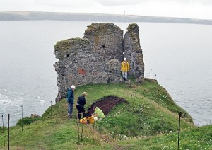 archaeology angle bay pembrokeshire