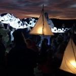Dragon lantern parade
