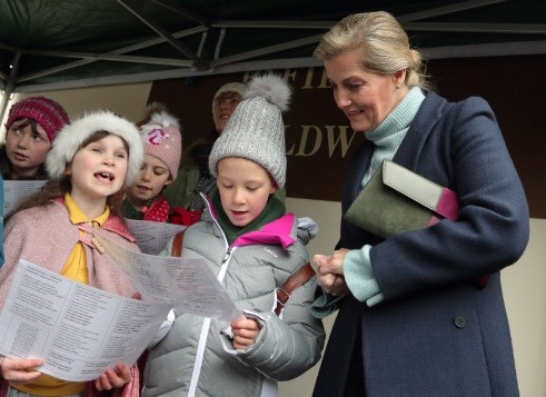 countess of wessex at royal welsh winter fair