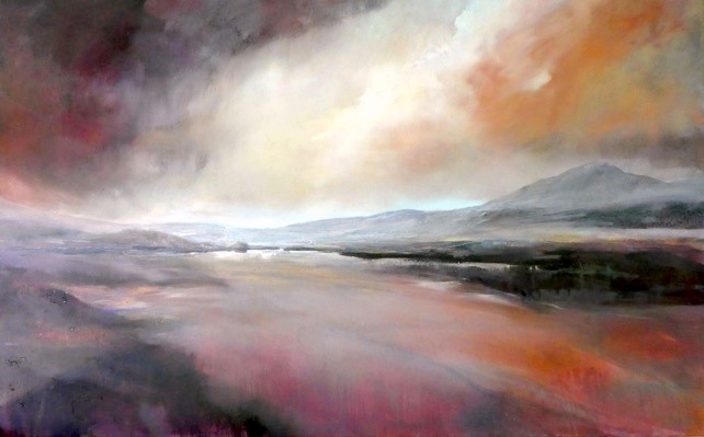I remember - Oil on canvas - 100 x 160cm - #BalanceforBetter