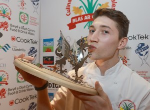 sion hughes covets his trophy
