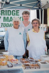 country market ladies at cowbridge farmers market