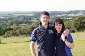 Pembrokeshire'semily davies rwas ladt ambassador plus cows on tour