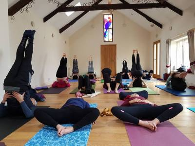 yoga in the dairy ceridwen centre