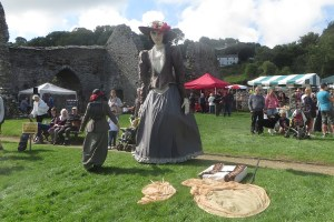 medieval day at st dogmaels