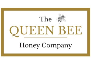 queen bee honey company logo