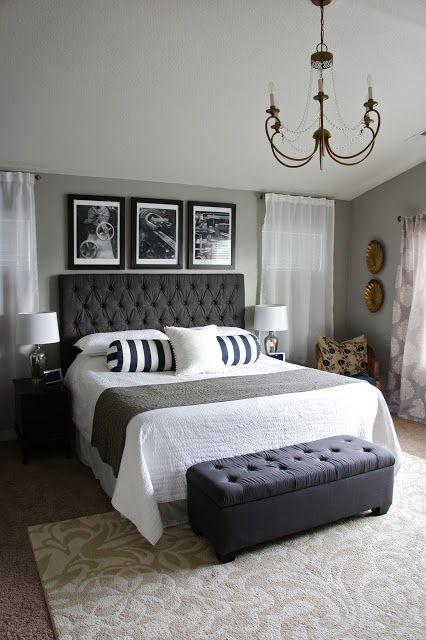 monochrome master bedroom pretty dubs