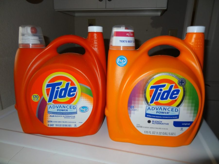 using the wrong detergent in a high efficiency washing machine