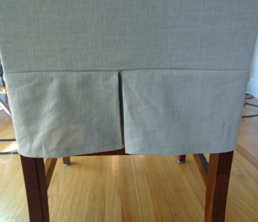 dining chair linen slip covers
