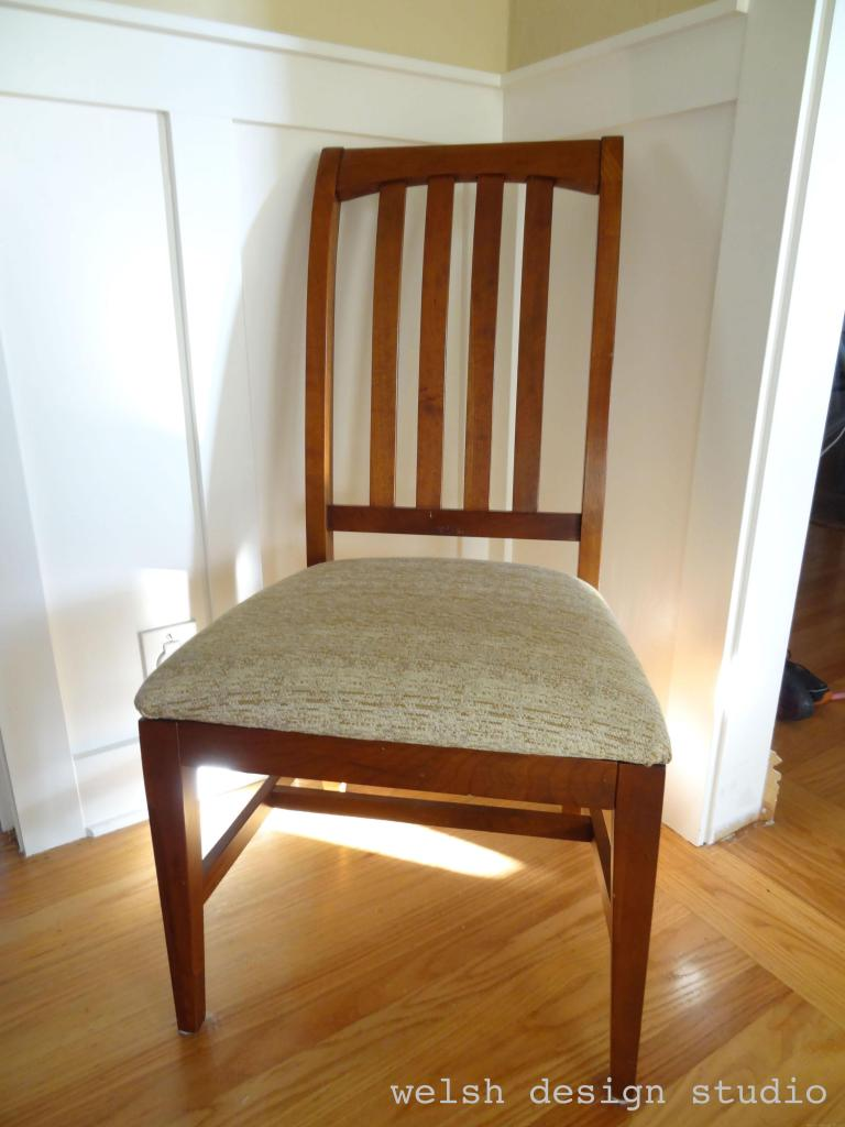 easy DIY dining chair covers