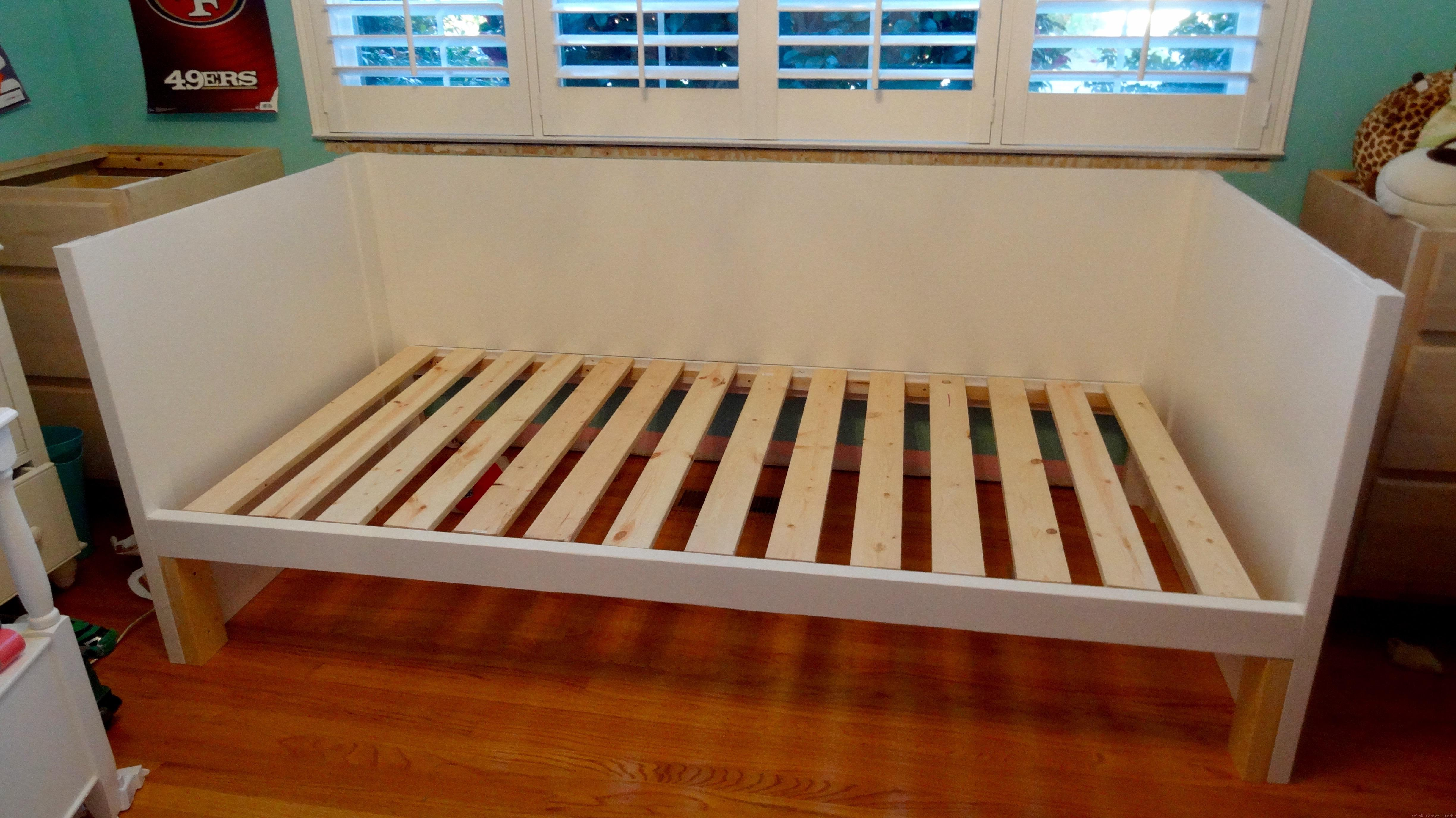 Our DIY Daybed and Trundle are Made - Welsh Design Studio