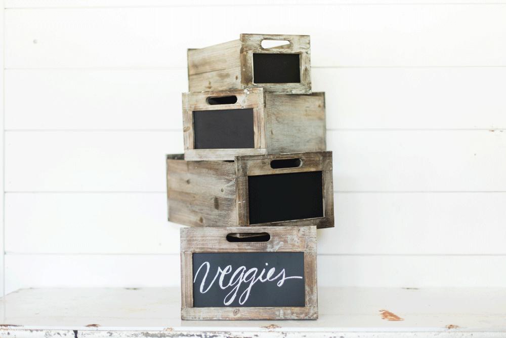 chalkboard crates magnolia market fixer upper