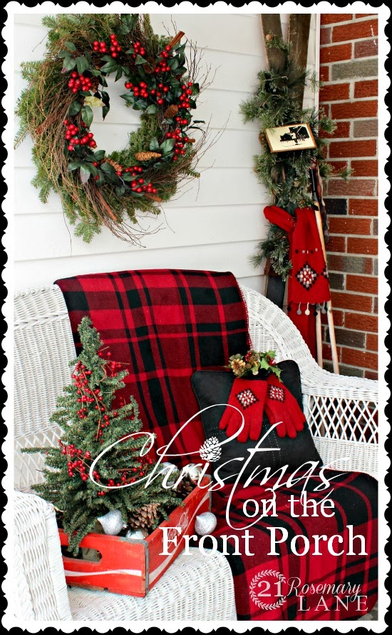 christmas front porch ideas