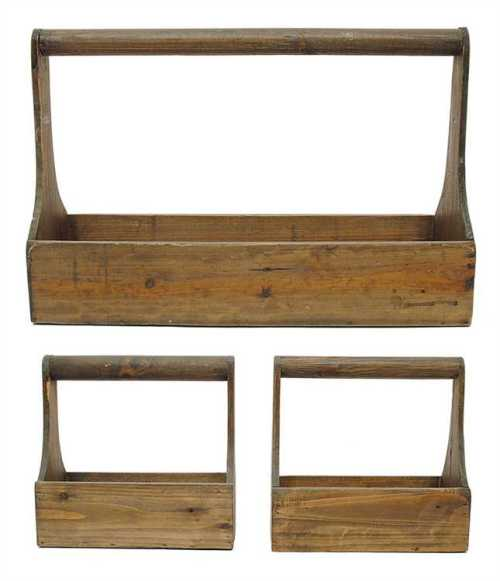 wood planter boxes