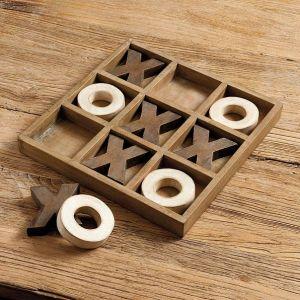 Diy Rustic Tic Tac Toe Board Welsh Design Studio