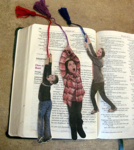 funny photo bookmarks