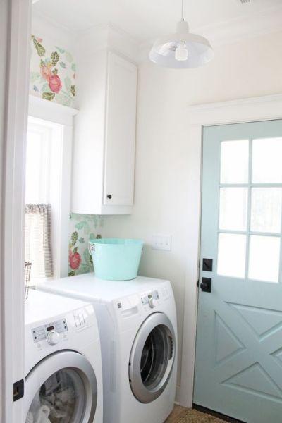aqua laundry door