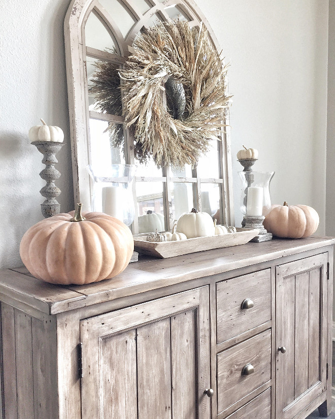Fall Decorating Ideas For The Dining Room: 5 Essential Fall Farmhouse Decorating Elements