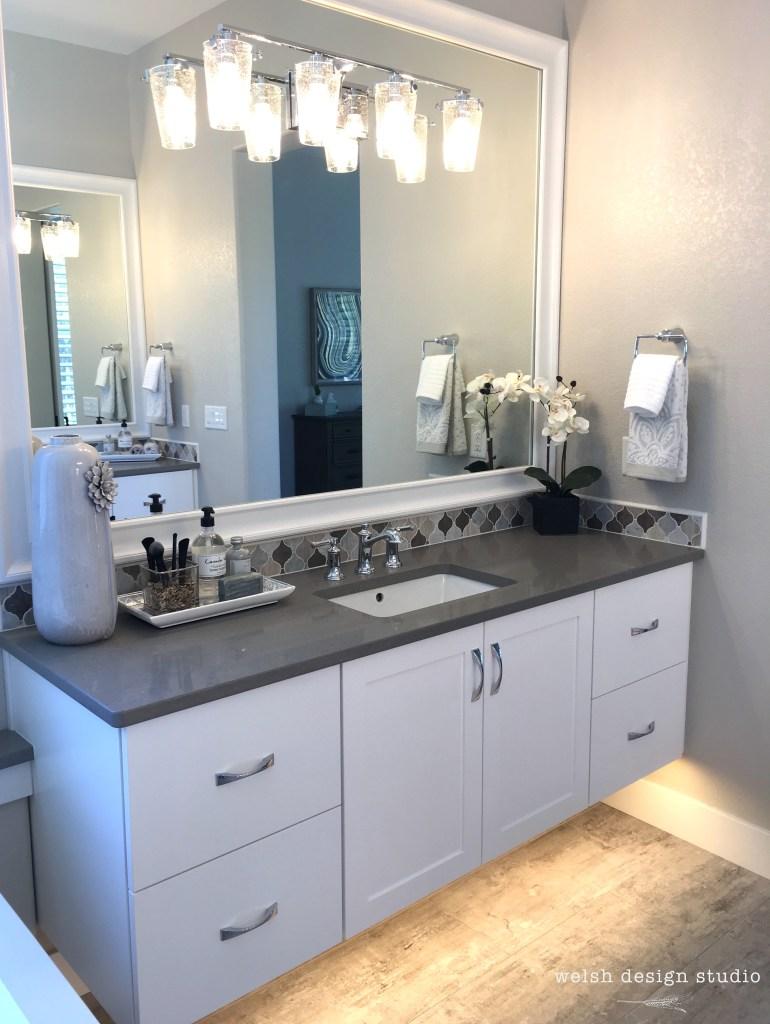 bathroom under cabinet lighting