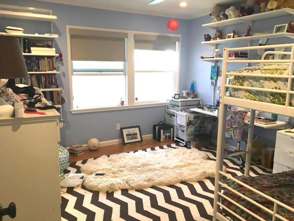 girl's bedroom makeover