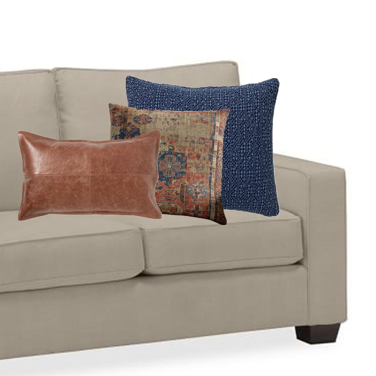 Interior Design 101 How To Coordinate Sofa Pillows Like A Design