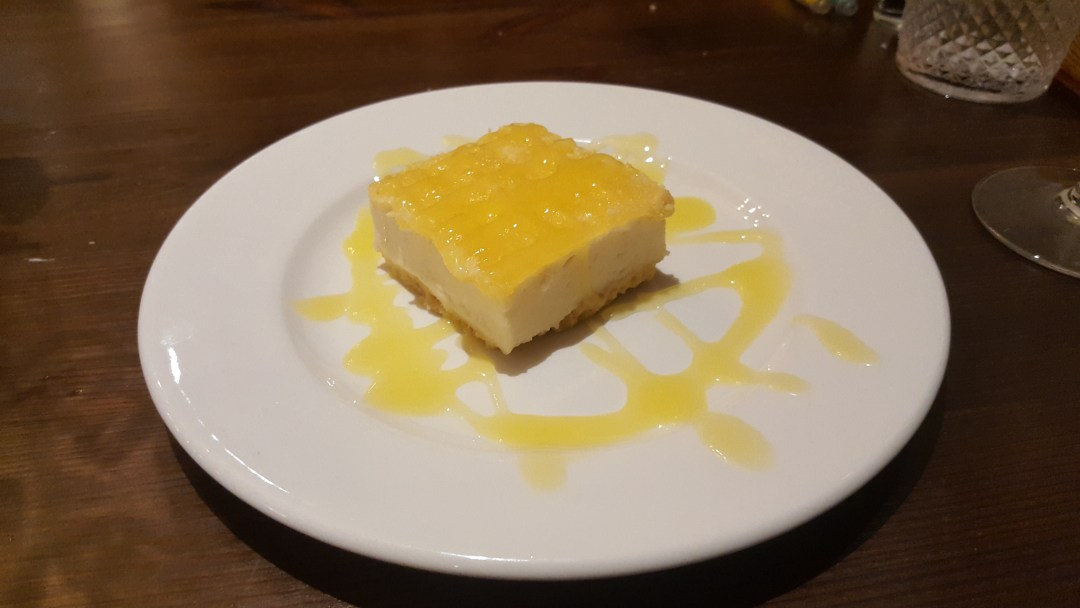 "Sicilian Lemon ""Cheesecake """