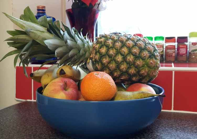 Fruit bowl Veganuary
