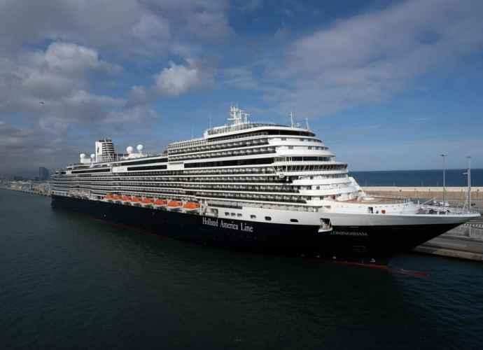 Kreuzfahrtschiff Koningsdamm