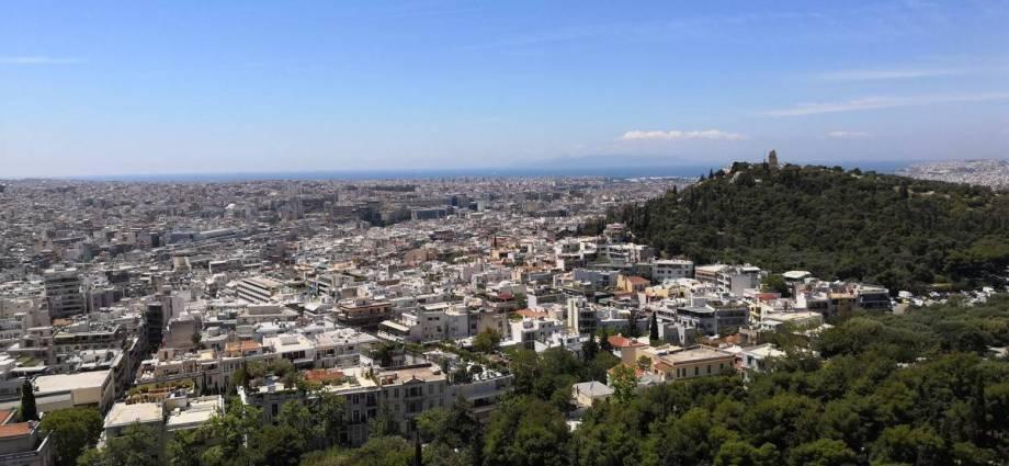 Millionenstadt Athen