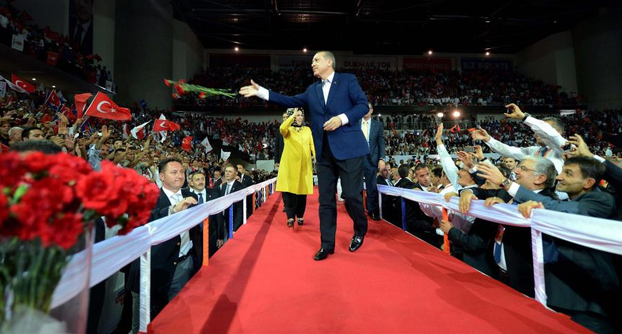 Justice and Development Party Congress in Ankara