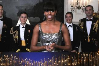 Michelle Obama, Jack Nicholson