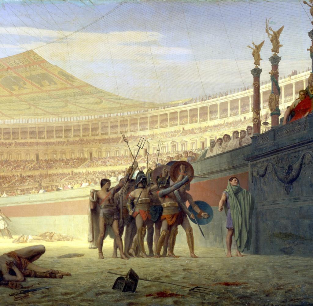 Gladiatoren So Blutig Mochten Es Nur Die Rmer In Der