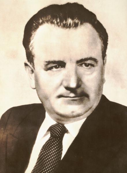 ... war Klement Gottwald, 1948 bis 1953 Präsident der Tschechoslowakei.