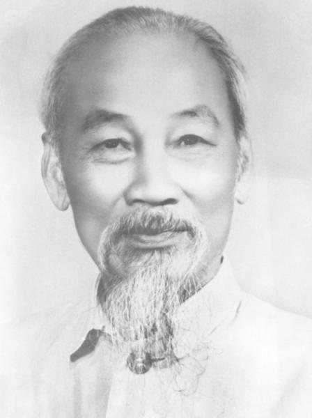 """Ebenfalls Gast im """"Lux"""": Ho Tschi Minh, Premierminister (1945-1955) und Präsident (1955-1969) der Demokratischen Republik Vietnam."""