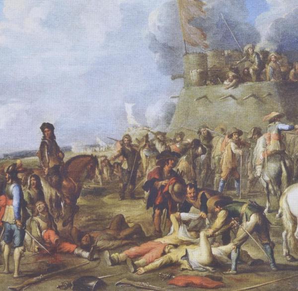 30j228hriger Krieg Die Landsknechte litten an L228usen und