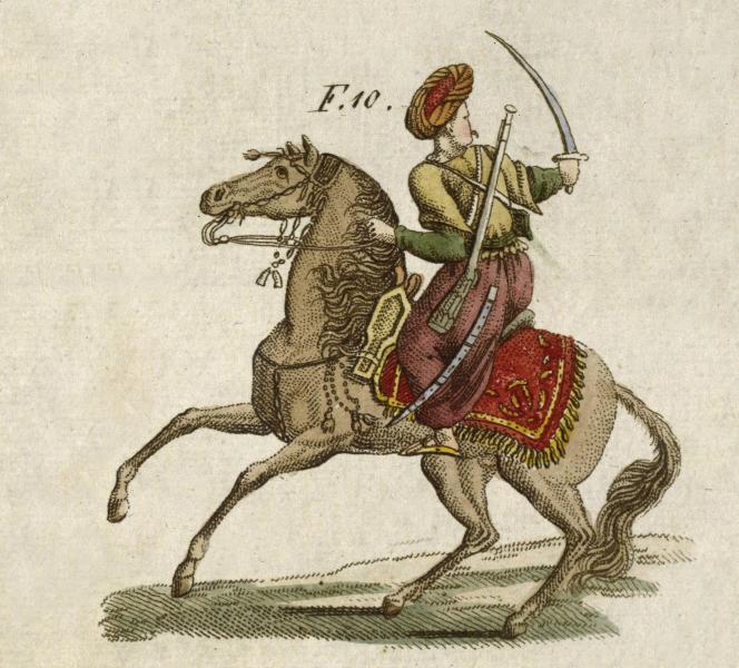 <br />Bis ins 19. Jahrhundert hinein verstanden sich die Nachfahren der islamischen Militärsklaven als Elitetruppe<br />