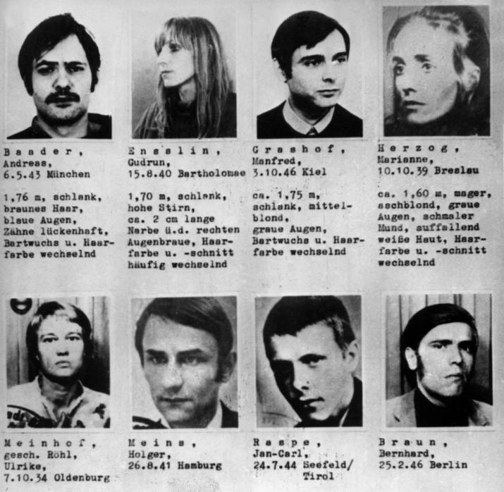 Rote-Armee-Fraktion 1970: Meinhof übersah 97.000 Mark Beute - WELT