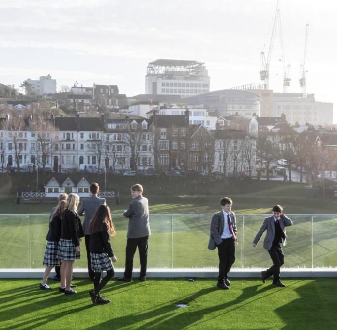 The School of Science and Sport, Brighton College, 2020