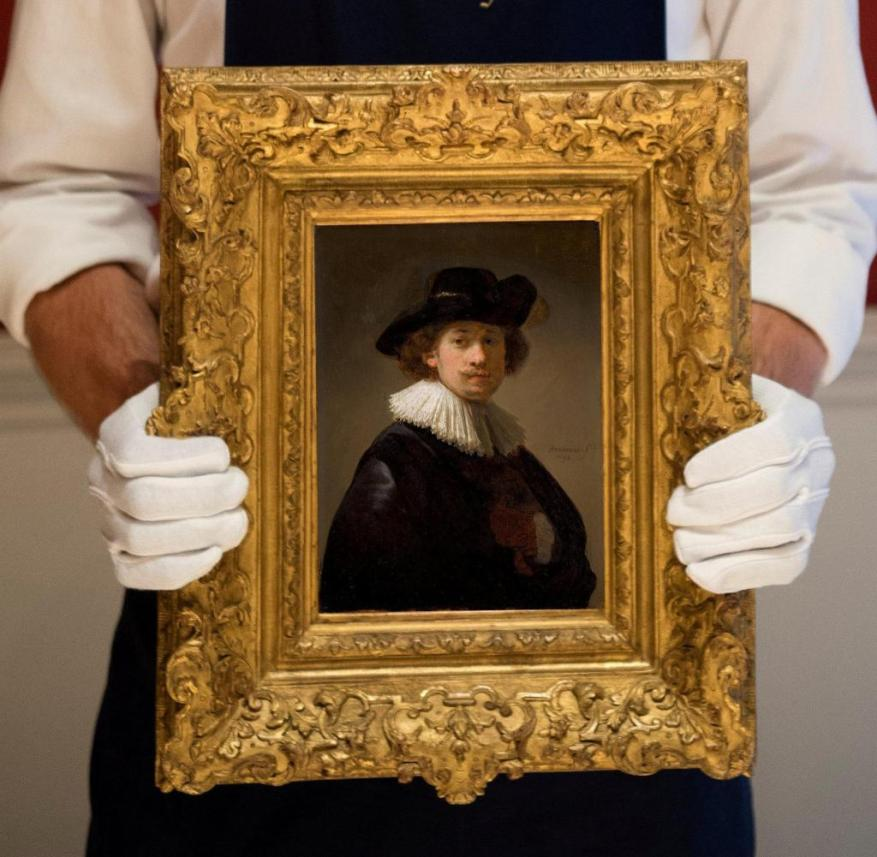 £ 16m is a world record for a Rembrandt self-portrait