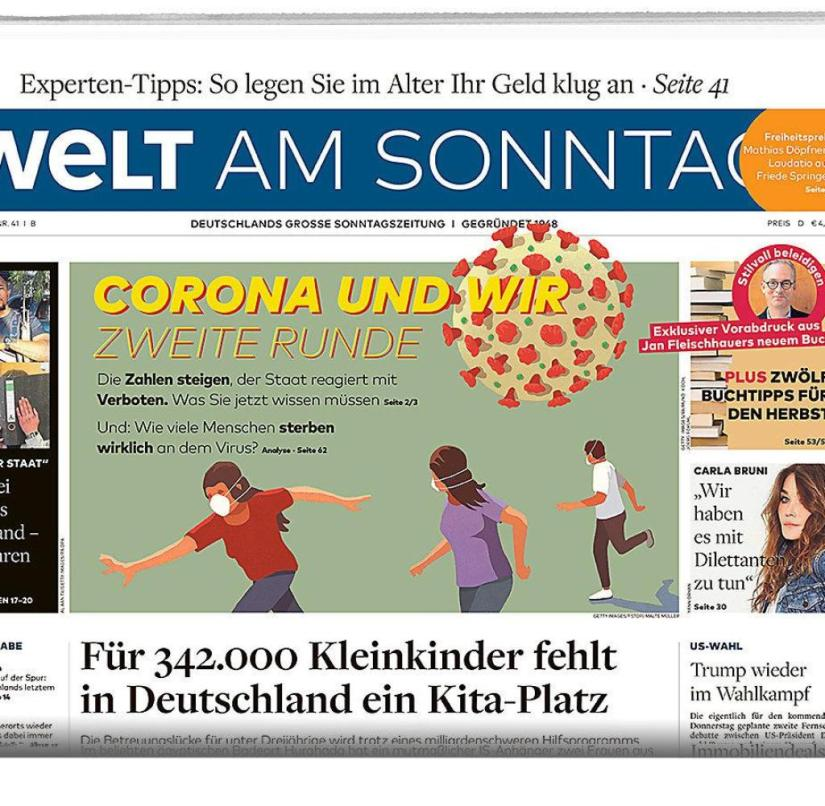 Welt am Sonntag from October 11, 2020