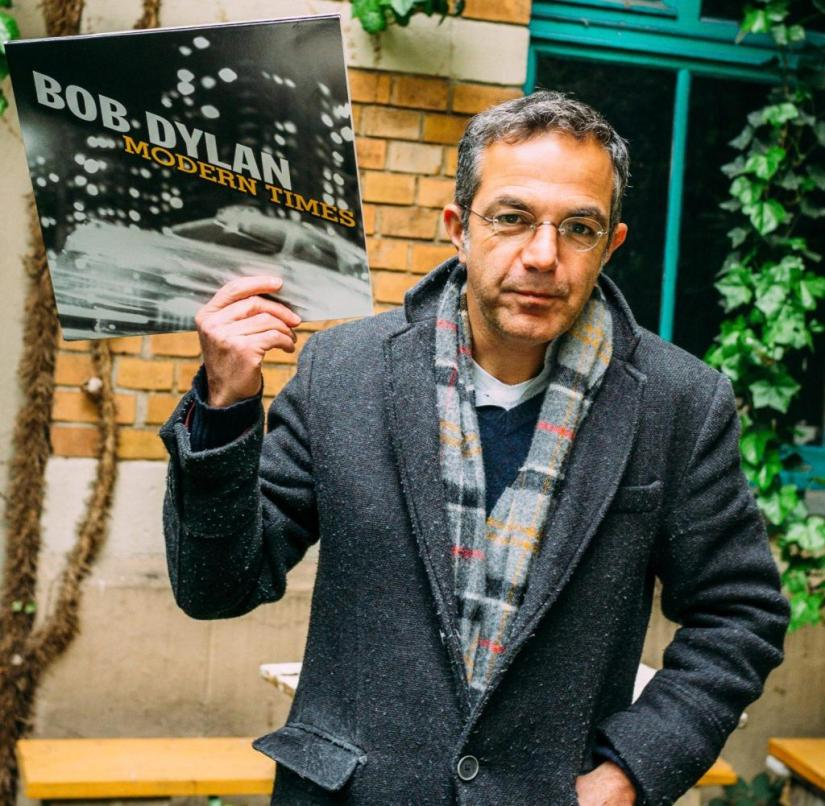 +++ One-time use for WELT all incl. Online / hd edition (NO TV) +++ Navid Kermani with his favorite Bob Dylan record.
