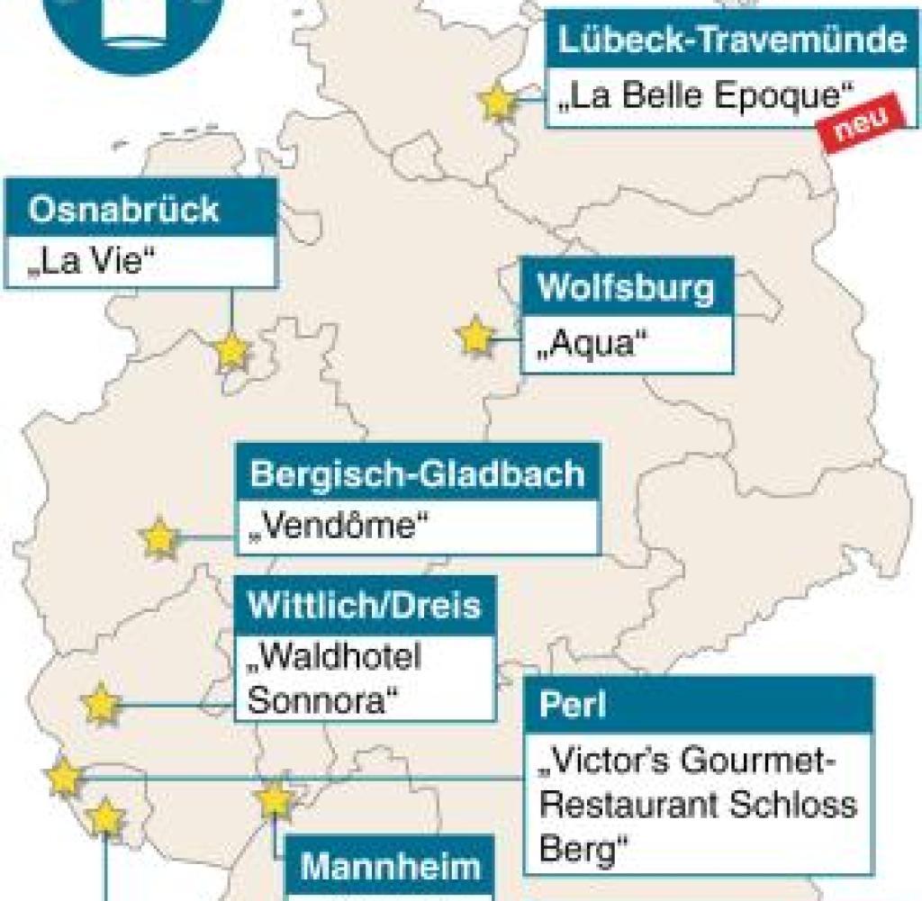 Guide Michelin Deutsche Restaurants Schaffen Sterne Rekord