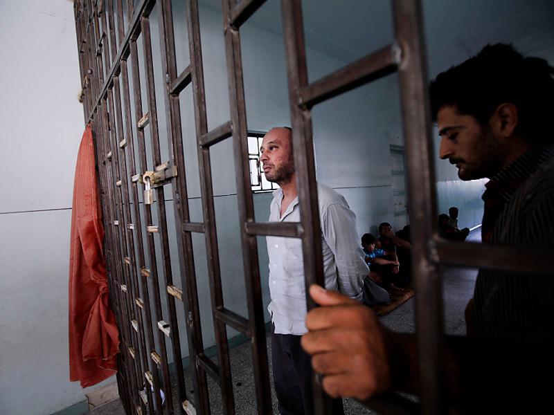 Hinter Gittern in der Grundschule