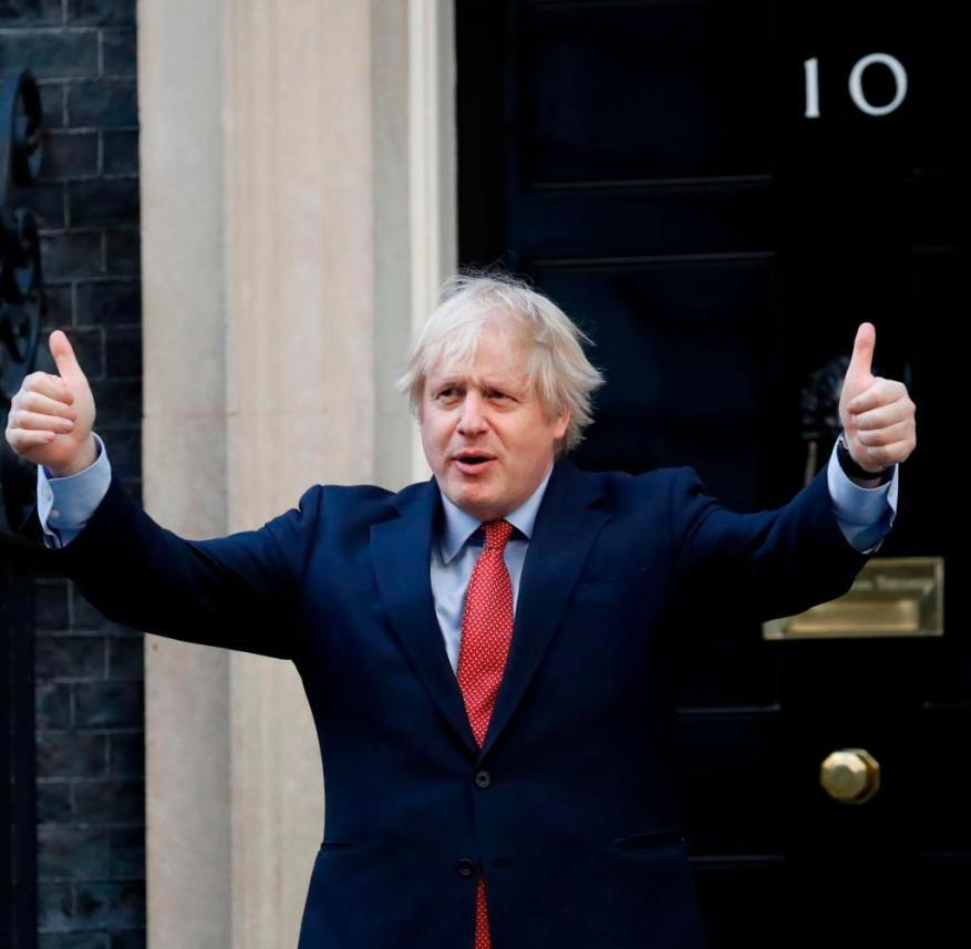 Boris Johnson has so far survived the corona pandemic politically