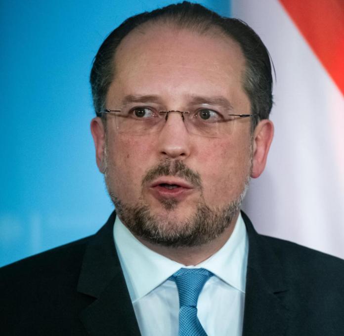Alexander Schallenberg, Foreign Minister of Austria: