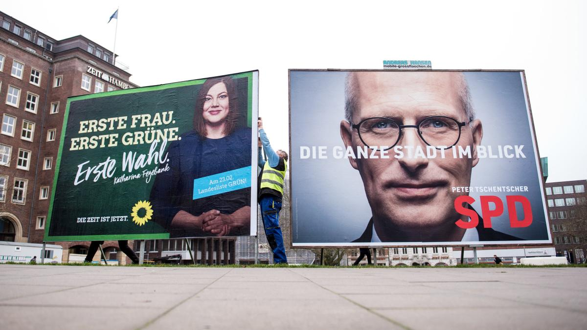 Hamburg election: First election after the political quake – CDU threatens to crash