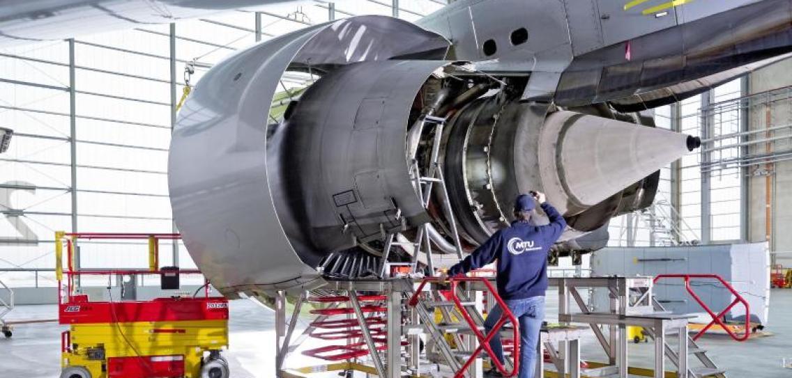 Triebwerkshersteller MTU dringt auf Wasserstoff
