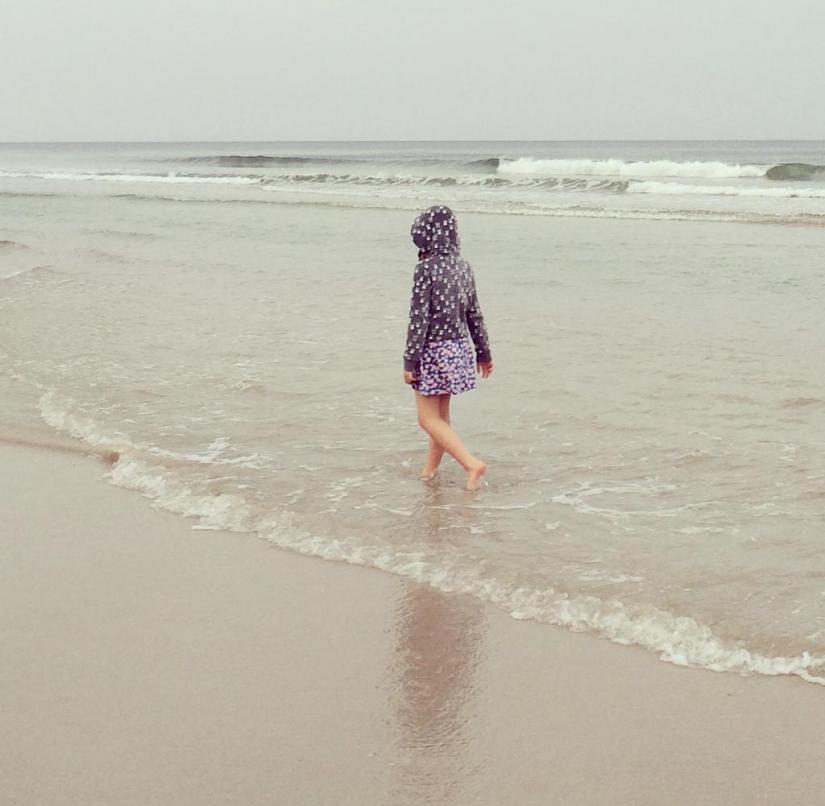 Like a 25-degree shower: when it shivers, the rain is lukewarm