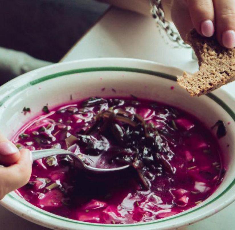 Ukraine: Borsch is the national food of the Ukrainians