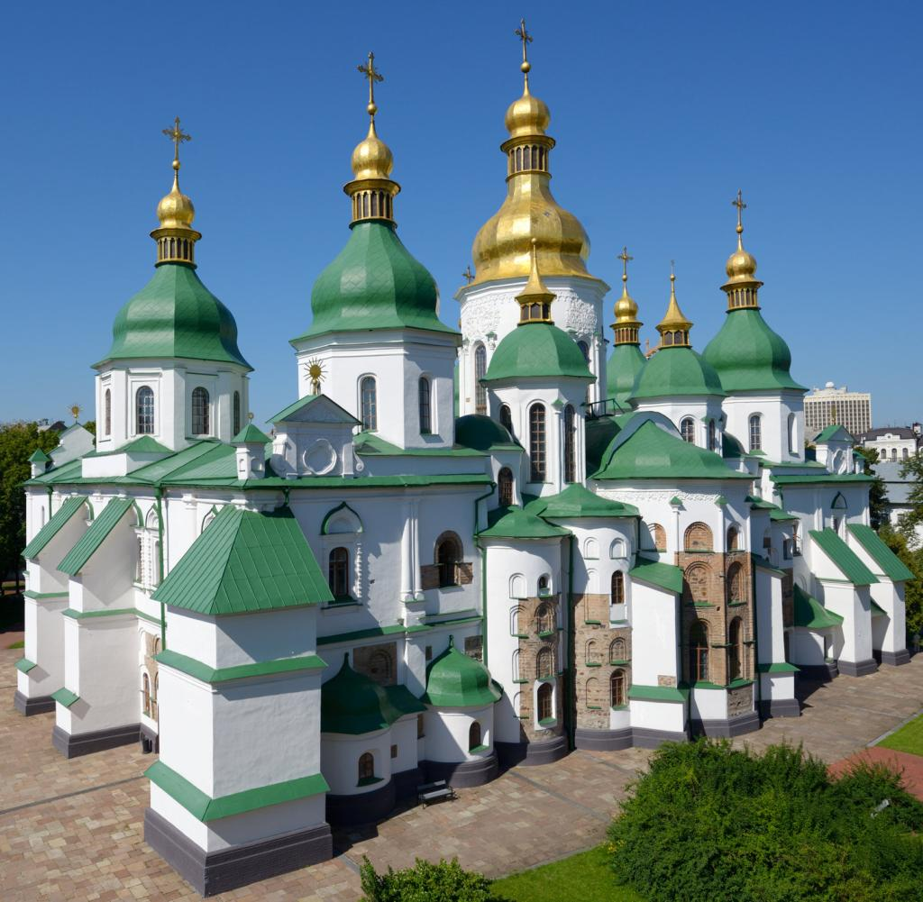 Ukraine: The most photographed attraction in Kiev is the St. Sophia Cathedral